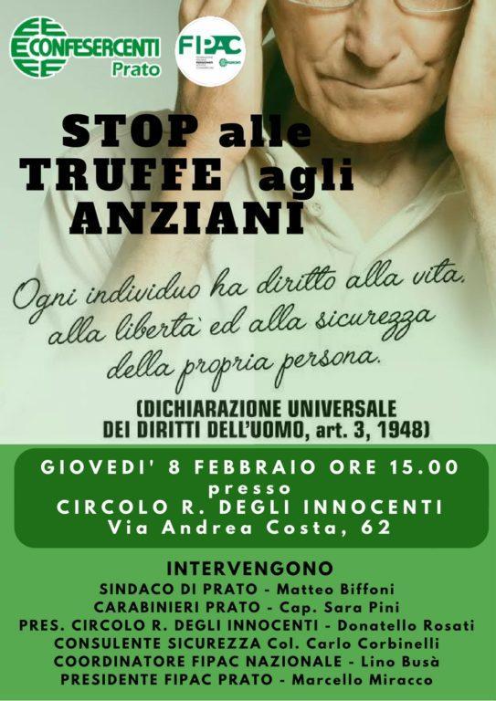Stop alle truffe agli anziani l 39 eco di prato for Elenco senatori italiani
