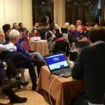nella foto un incontro pubblico di Prato in Azione
